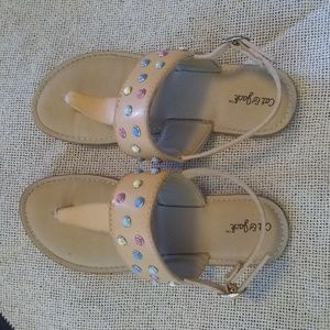 Cat & Jack Shoes - Cat & Jack Girl's Sandals-Size 13